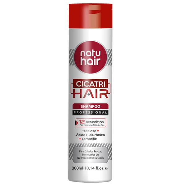 Natu Hair Shampoo Cicatri Hair 300mL