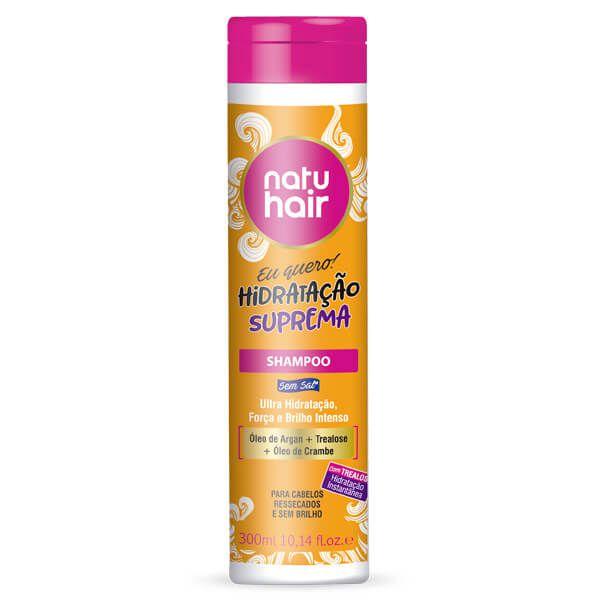 Natu Hair Shampoo Eu Quero! Hidratação Suprema 300mL