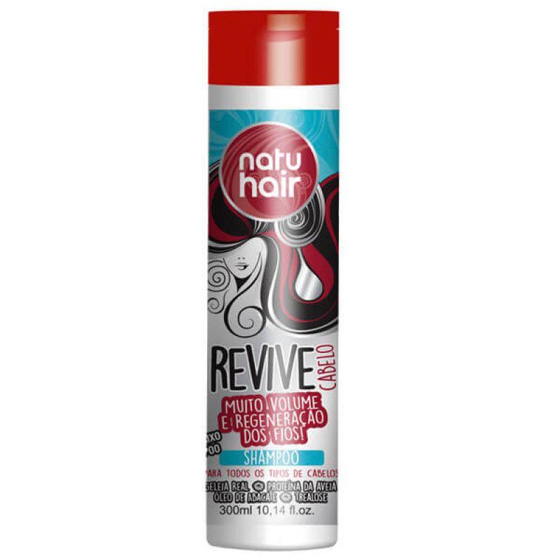 Natu Hair Shampoo Revive Cabelo 300mL