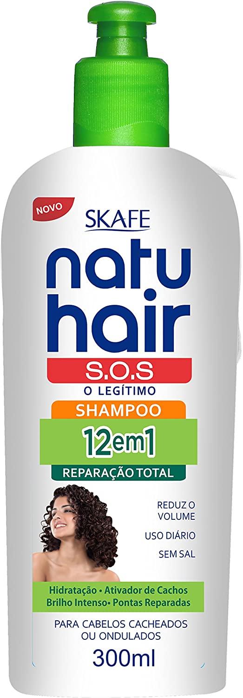 Natu Hair Shampoo S.O.S. 12em1 300mL