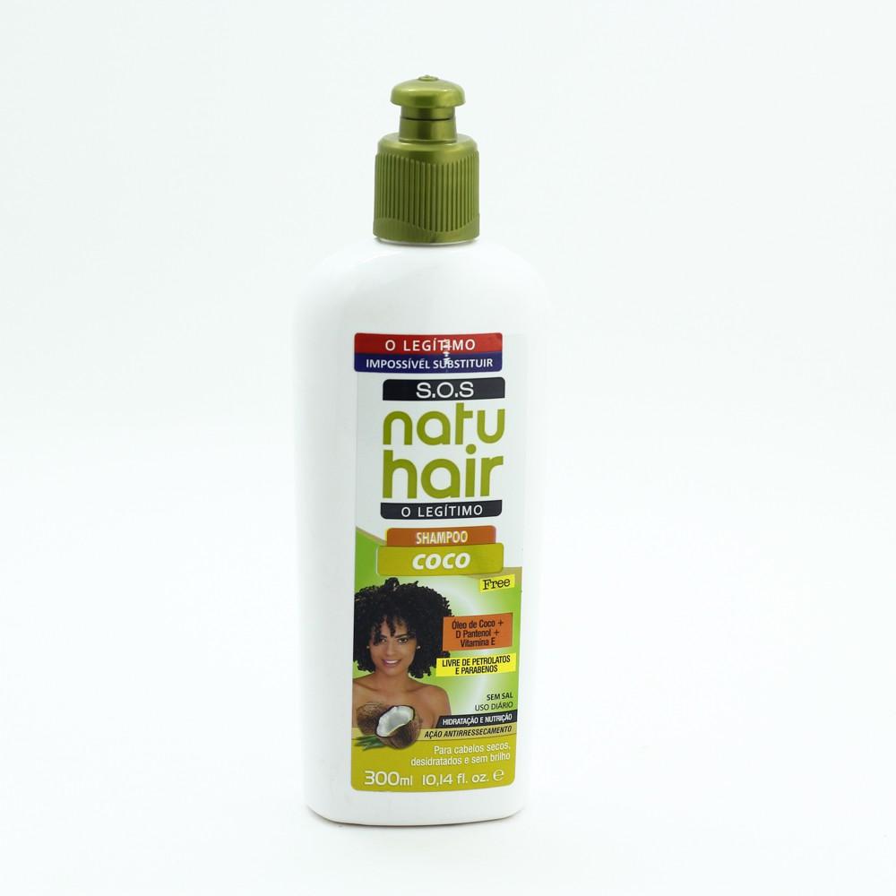 Natu Hair Shampoo S.O.S. Coco 300mL