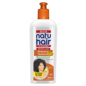 Natu Hair Shampoo S.O.S. Nutritivo Free 300mL