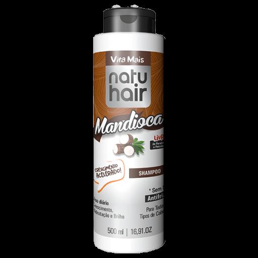 Natu Hair Shampoo Tratamento Intensivo Mandioca 500mL