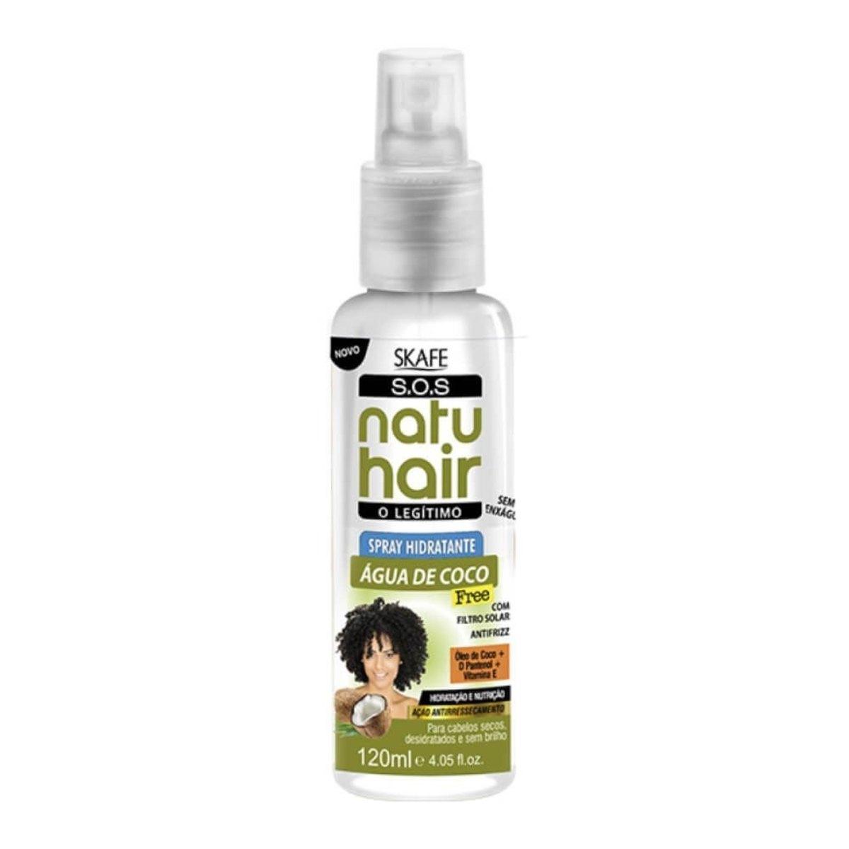 Natu Hair Spray Hidratante Coco 120mL
