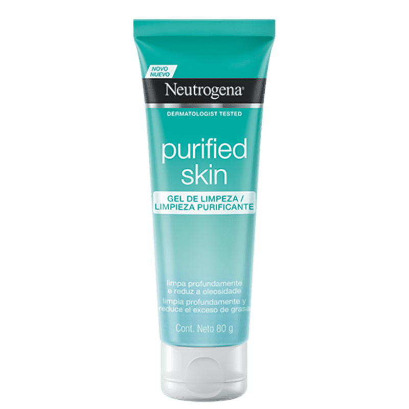Neutrogena Gel de Limpeza Facial Purified Skin 80g