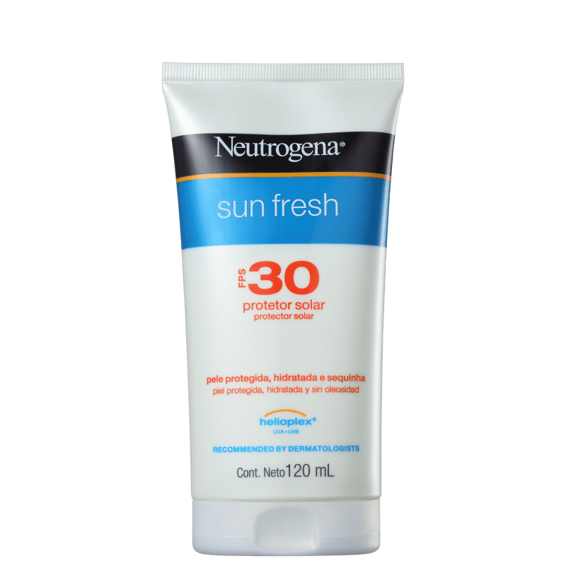 Neutrogena Protetor Solar Sun Fresh FPS 30 120mL