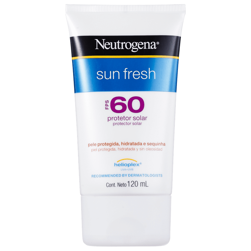Neutrogena Protetor Solar Sun Fresh FPS 60 120mL
