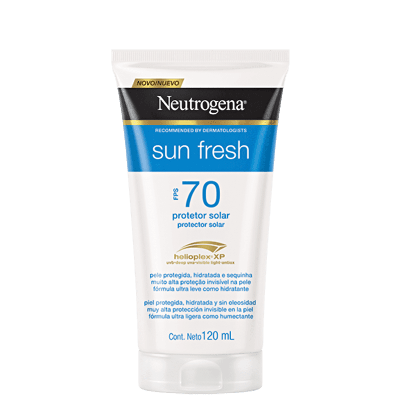 Neutrogena Protetor Solar Sun Fresh FPS 70 120mL