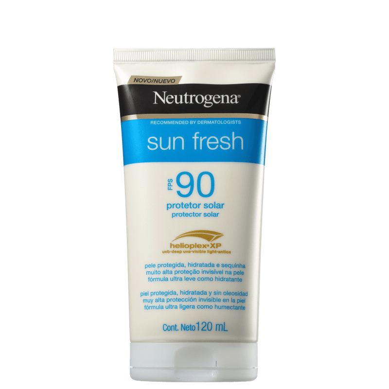 Neutrogena Protetor Solar Sun Fresh FPS 90 120mL