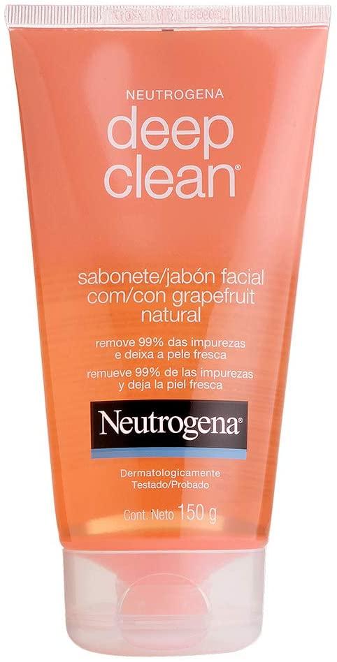 Neutrogena Sabonete Facial Deep Clean Grapefruit 150g