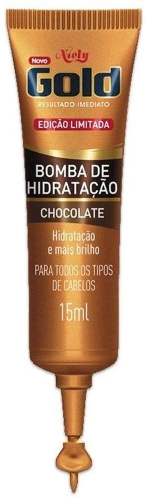 Niely Bomba de Hidratação Chocolate 15mL