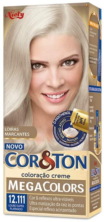 Niely Coloração Cor&Ton 12.111 Louro Super Platinado 180g