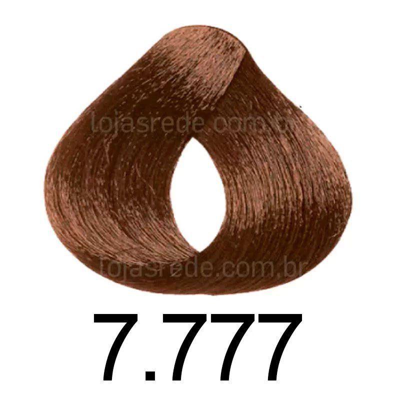 Niely Coloração Cor&Ton 7.777 Louro Marrom Intenso 180g