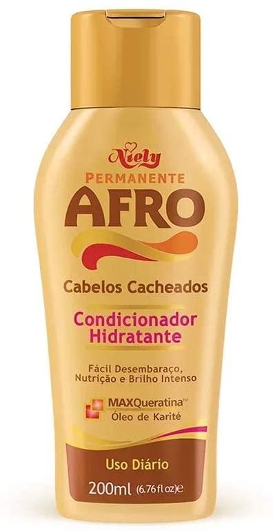 Niely Condicionador Afro Cabelos Cacheados 200mL