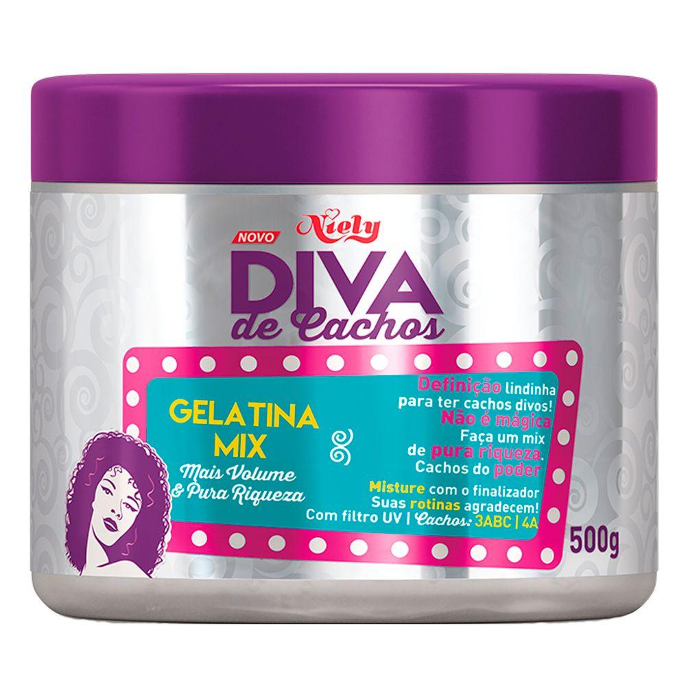 Niely Diva de Cachos Gelatina Mix 500g