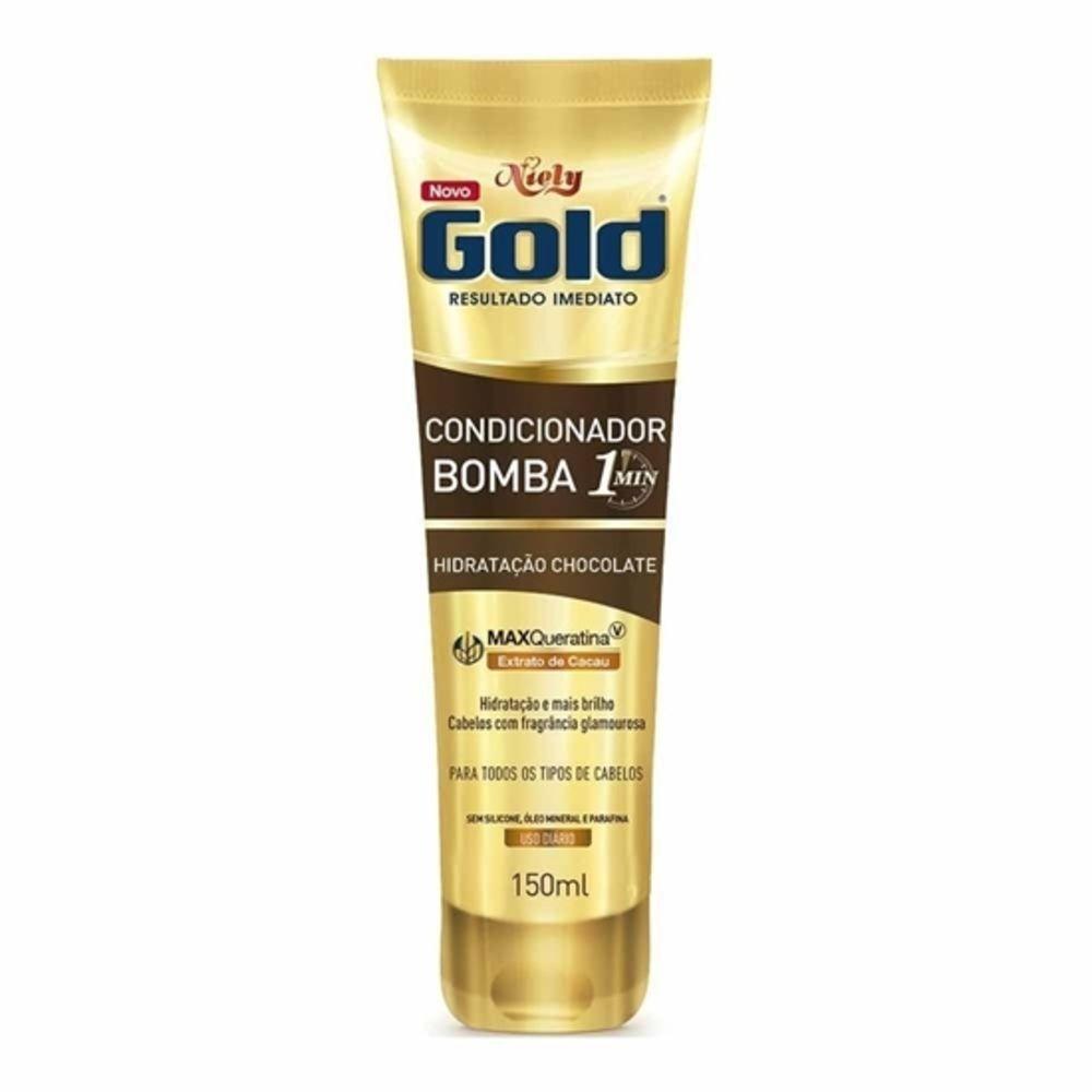 Niely Gold Condicionador Bomba Chocolate 150mL