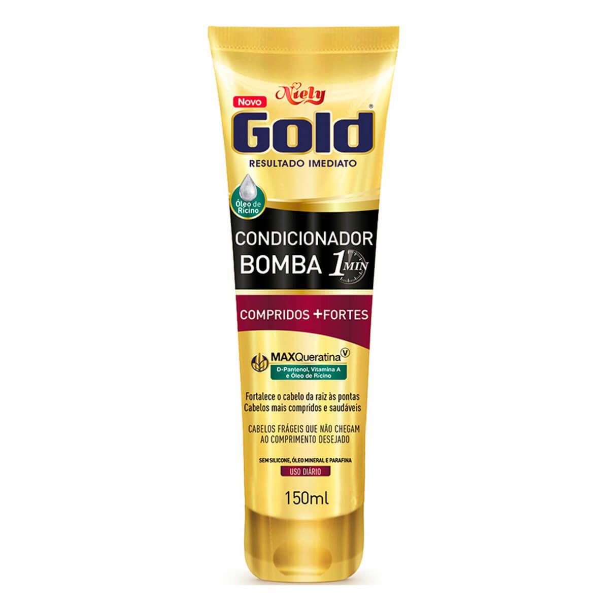 Niely Gold Condicionador Bomba Compridos+Fortes 150mL