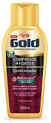 Niely Gold Condicionador Compridos + Fortes 200mL