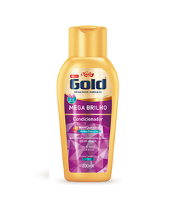 Niely Gold Condicionador Mega Brilho 200mL