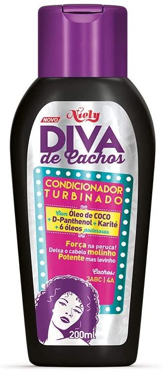 Niely Gold Diva de Cachos Condicionador Turbinado 200mL