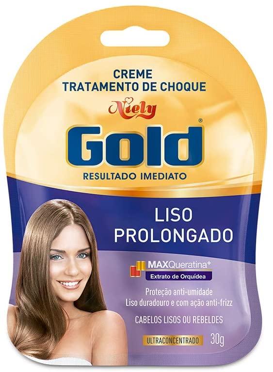 Niely Gold Sachê Liso Prolongado 30g