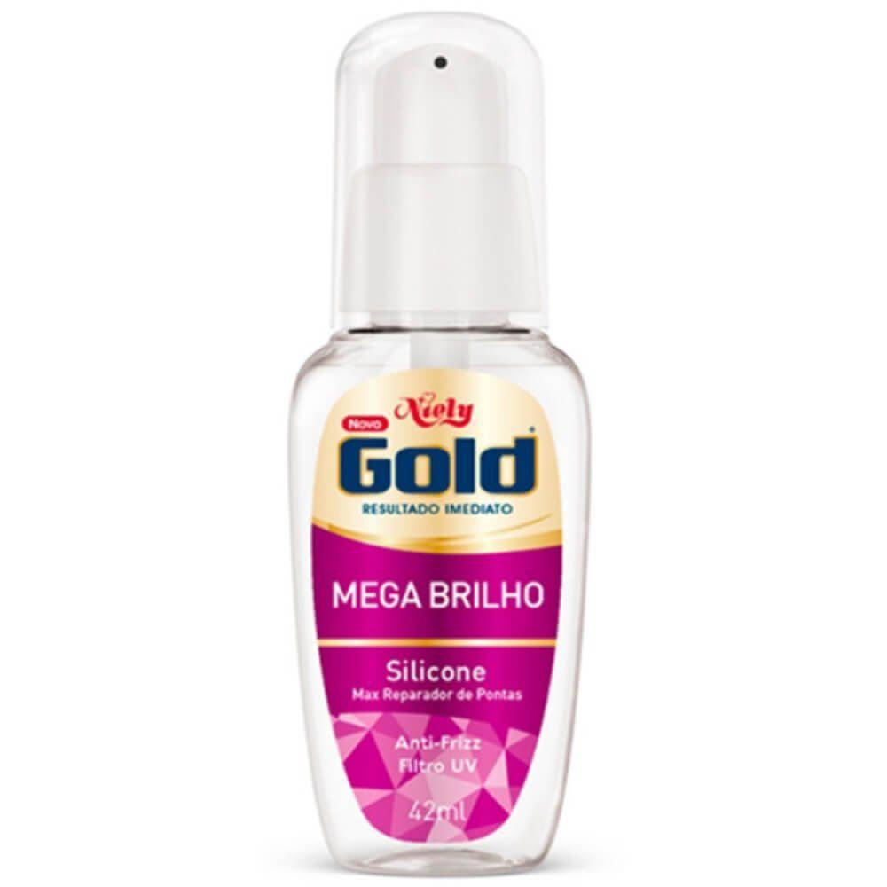 Niely Gold Silicone Mega Brilho 42mL