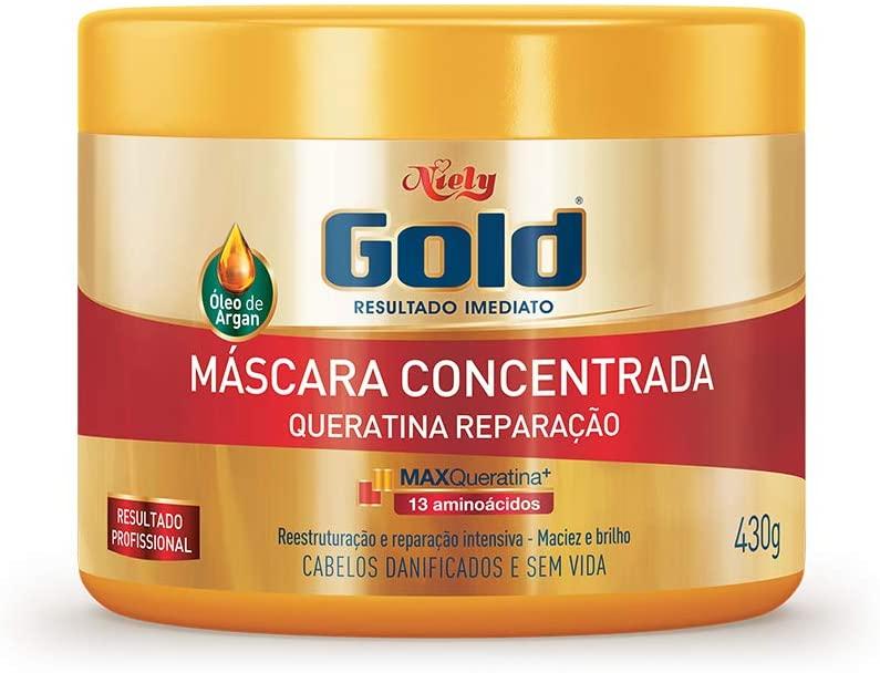Niely Máscara Queratina Reparação 430g