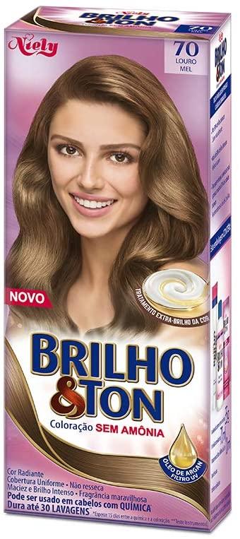 Niely Tonalizante Brilho & Ton 70 Louro Mel 180g