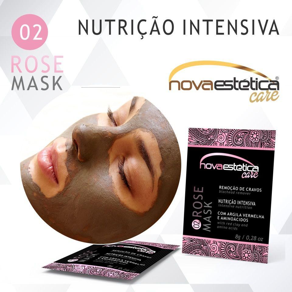 Nova Estética Máscara Facial Antiacne Rose 8g