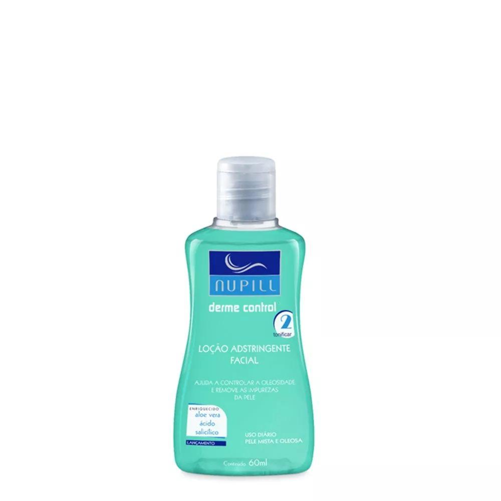 Nupill Loção Adstringente Facial Antiacne Derme Control 60ml