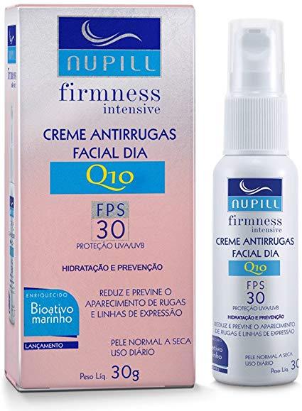 Nupill Creme Anti-idade Firmness Intensive Dia Q10 - Bio Ativo Marinho 30g