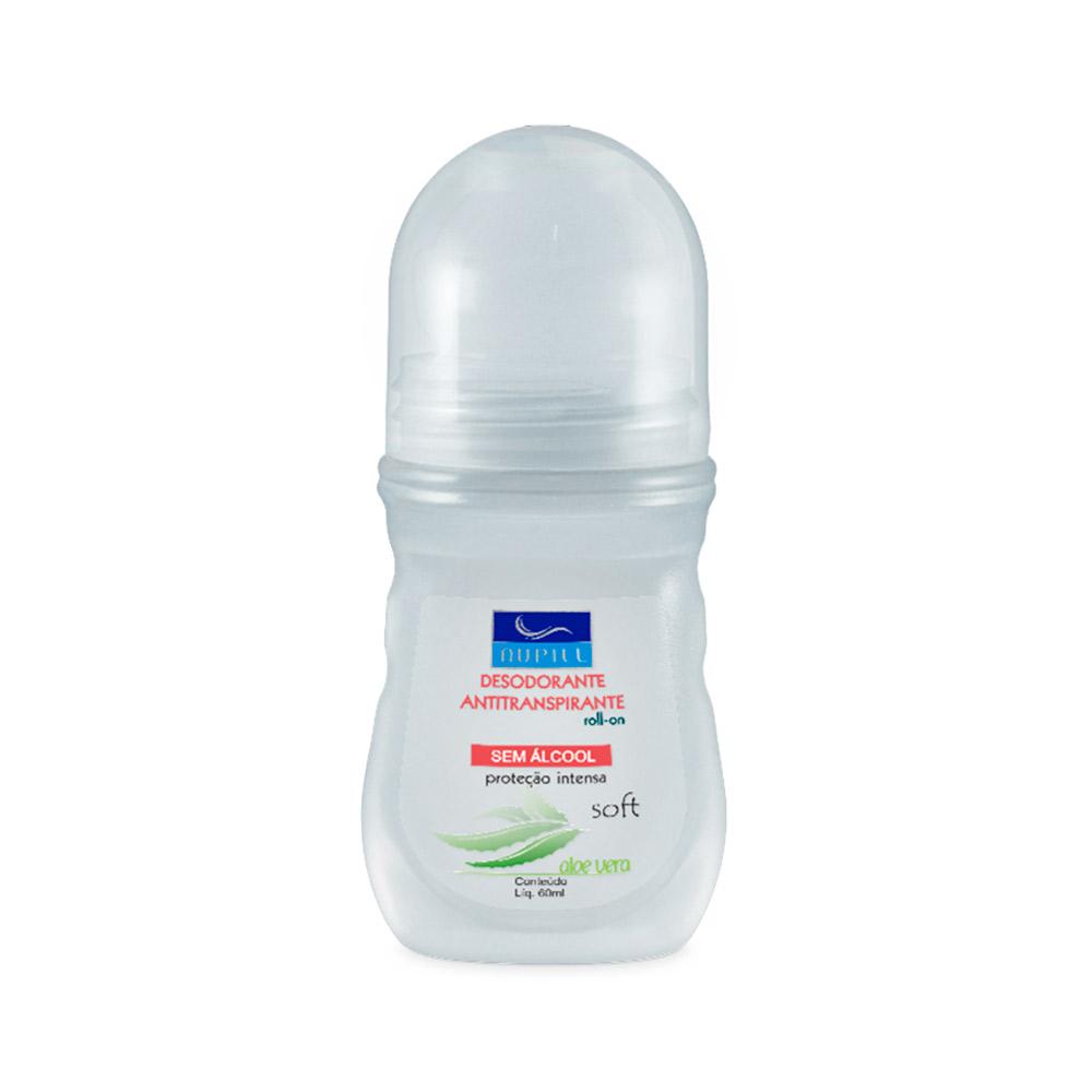 Nupill Desodorante Roll-on Proteção Intensa Soft 60ml
