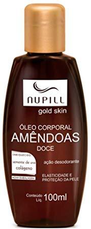 Nupill Hidratante Corporal Gold Skin Semente de Uva + Colágeno 100ml