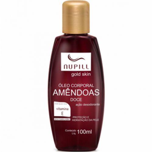 Nupill Hidratante Corporal Gold Skin Vitamina E 100ml