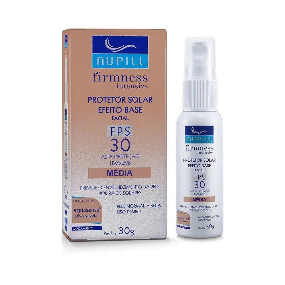 Nupill Protetor Facial Firmness Intensive Efeito Base Média 30g