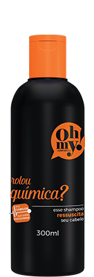 Oh My! Shampoo Rolou Química? 300 ml