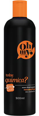 Oh My! Shampoo Rolou Química? 500 ml