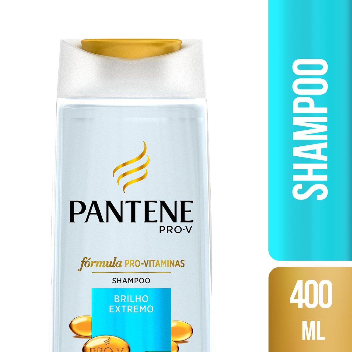 Pantene Shampoo Brilho Extremo 400mL
