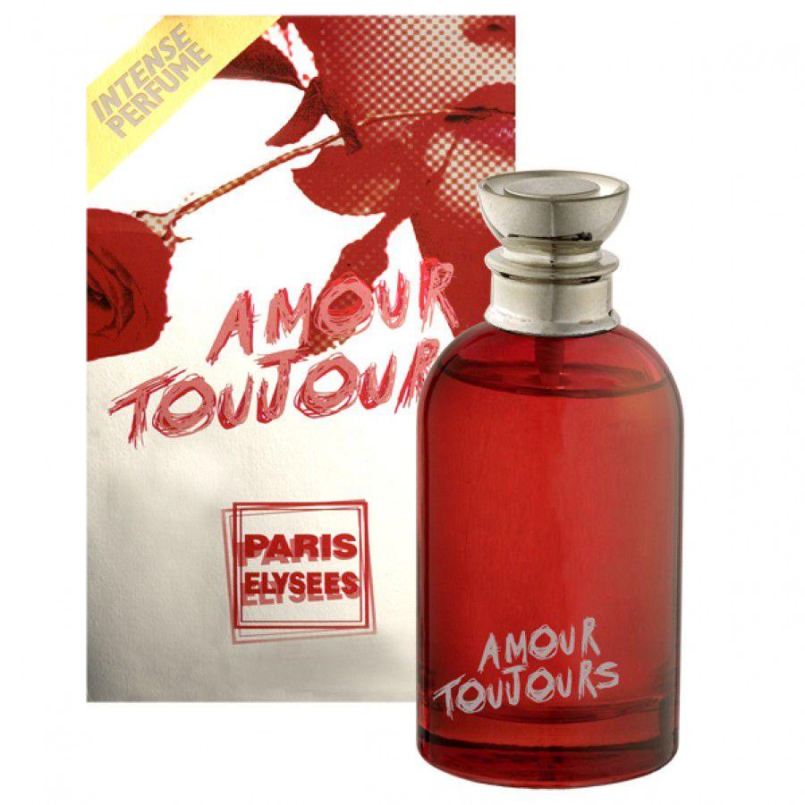 Paris Elysees Eau de Toilette Amour Toujours Feminino 100 mL