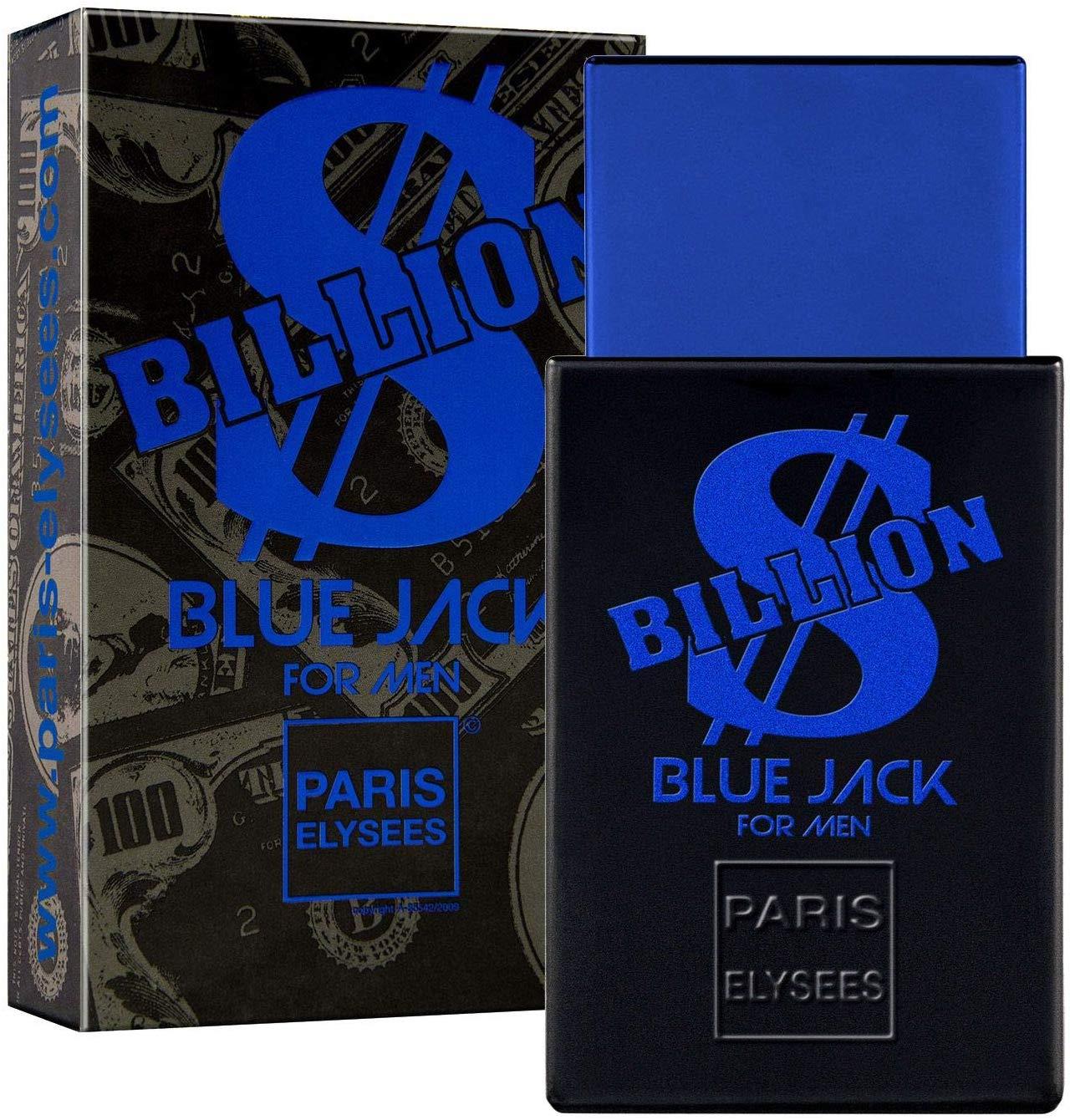 Paris Elysees Eau de Toilette Billion Blue Jack For Men 100 mL