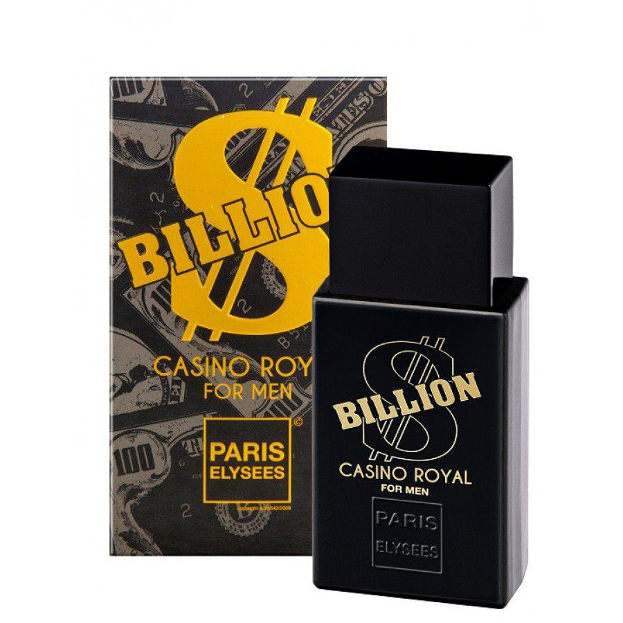 Paris Elysees Eau de Toilette Billion Casino Royal For Men 100 mL