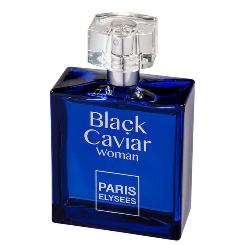 Paris Elysees Eau de Toilette Black Caviar Woman Feminino 100 mL