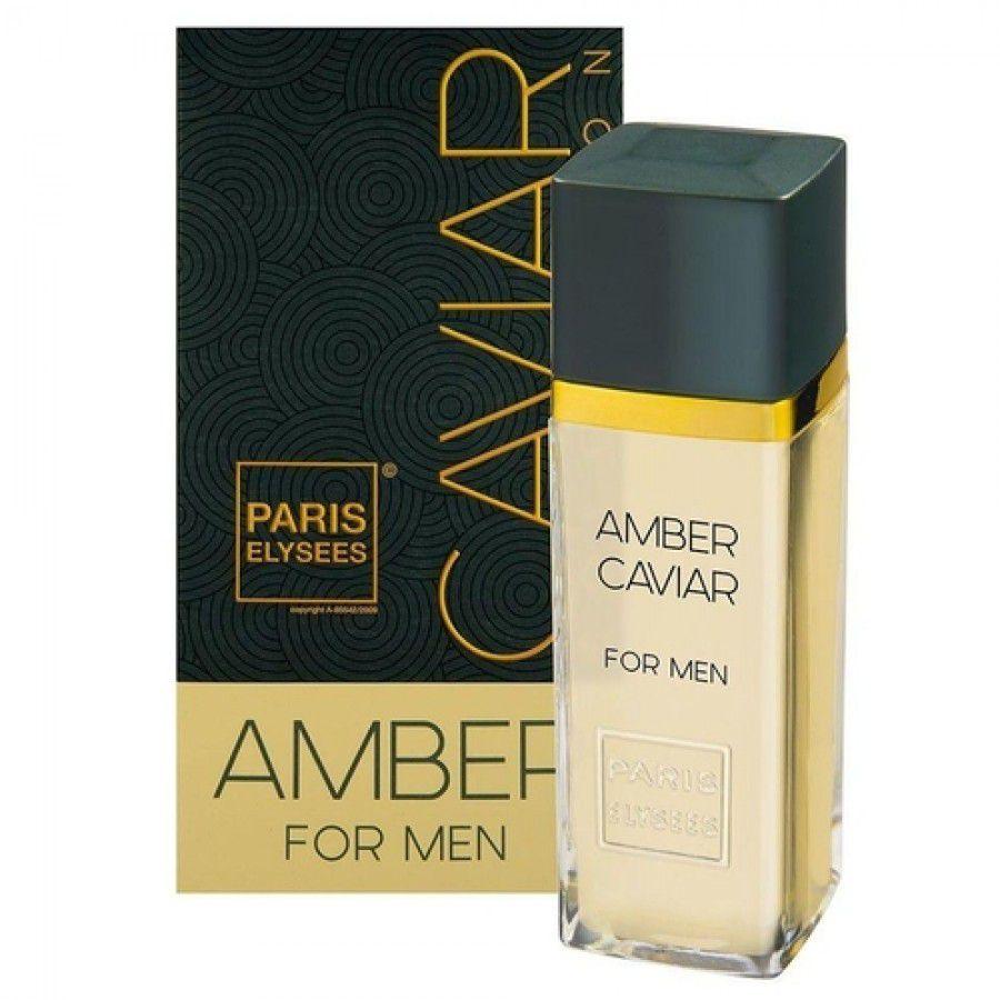 Paris Elysees Eau de Toilette Caviar Collection Amber For Men 100 mL