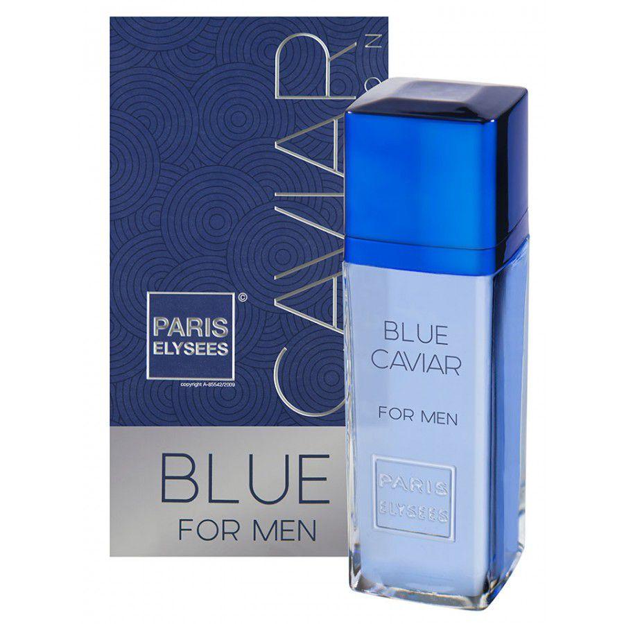 Paris Elysees Eau de Toilette Caviar Collection Blue For Men 100 mL