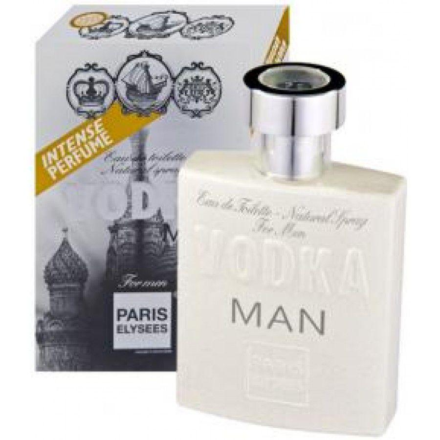 Paris Elysees Eau de Toilette Vodka Man For Men 100 mL