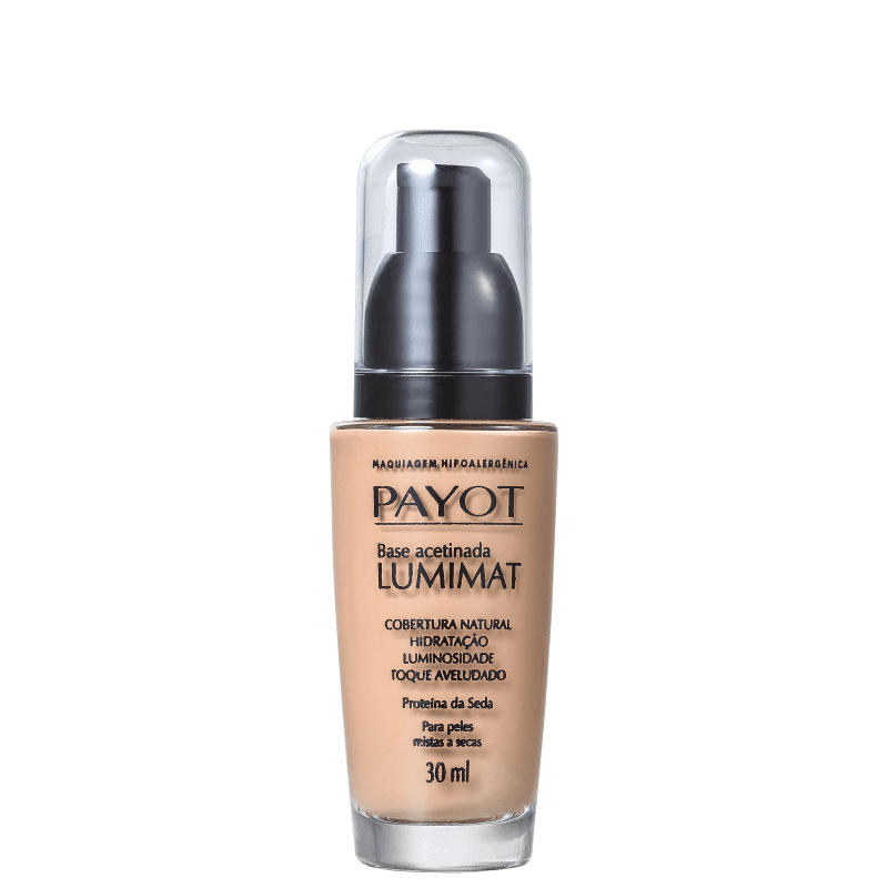 Payot Base Mate Acetinada Lumimat Cannelle 30ml