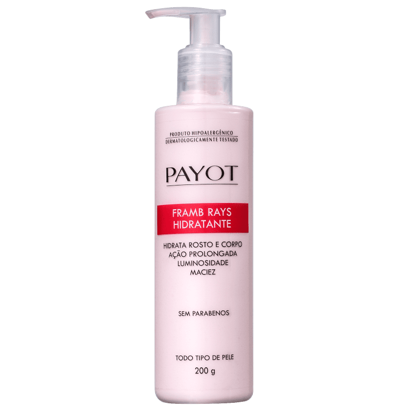 Payot Hidratante Corporal Framb Rays 200g