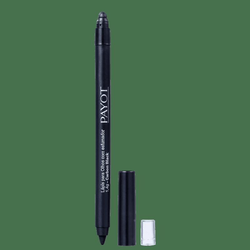 Payot Lápis para Olhos Carbon Black com Esfumador 2g