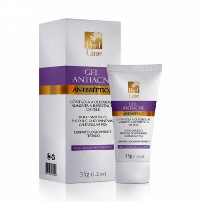 Peel Line Gel Anti Acne Antisséptico 35g