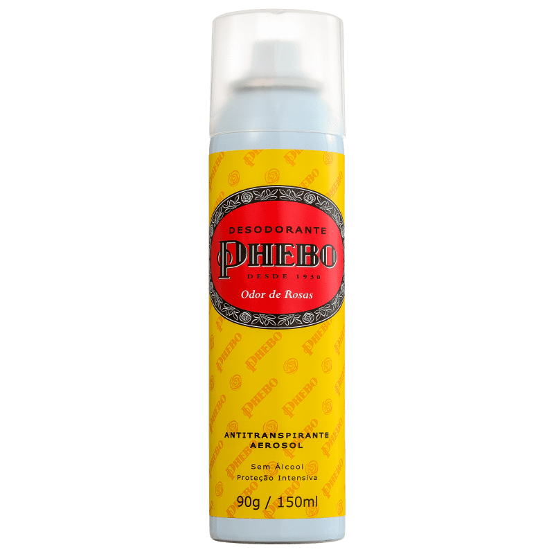 Phebo Desodorante Odor de Rosas Aerosol 150mL